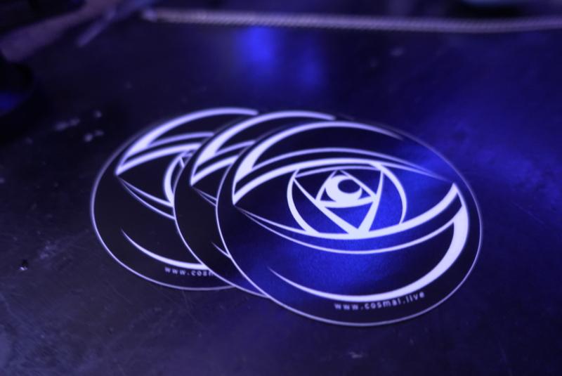 2020 Cosmal Eye Sticker - Cosmal - Live Music / Art Fusion