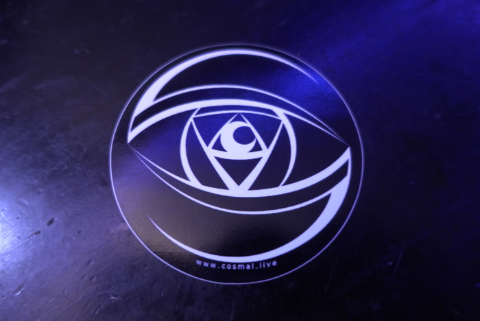 2020 Cosmal Eye Sticker - Cosmal - Live Music / Art Fusion