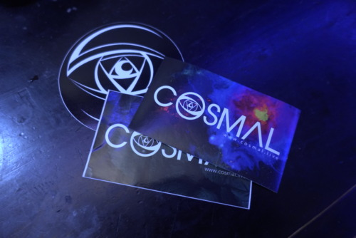 Cosmal Sticker Pack - Cosmal - Live Music / Art Fusion